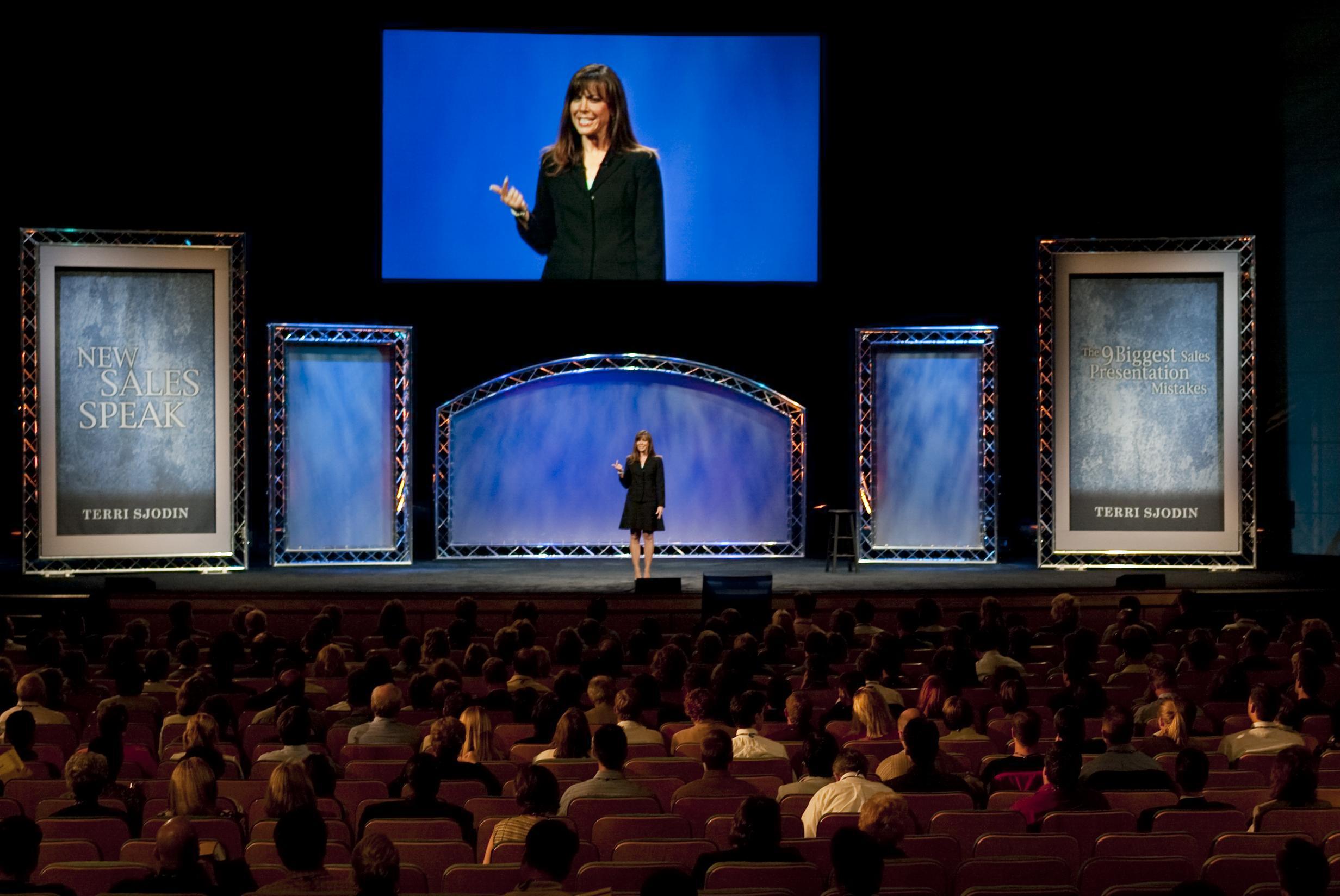 Terri Sjodin Live Presentation