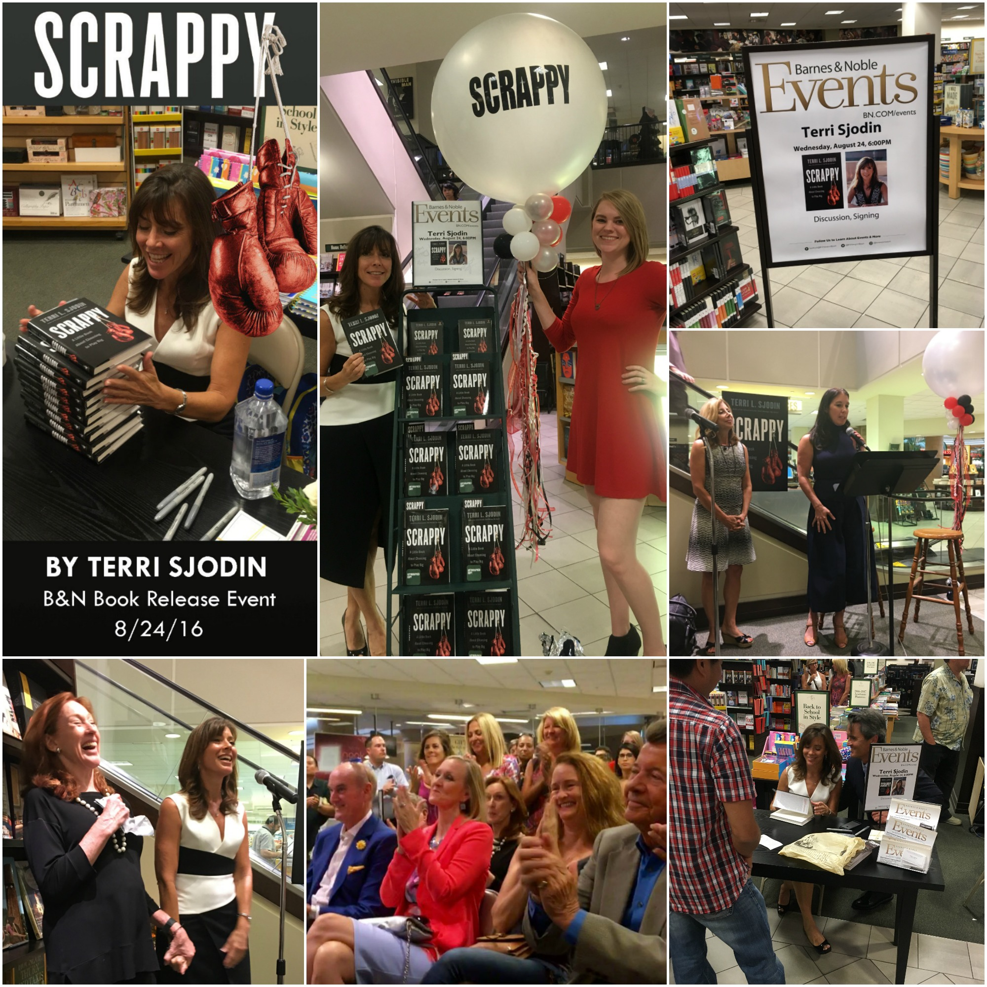 """Scrappy"" Book Release & Signing Event at Barnes & Noble"
