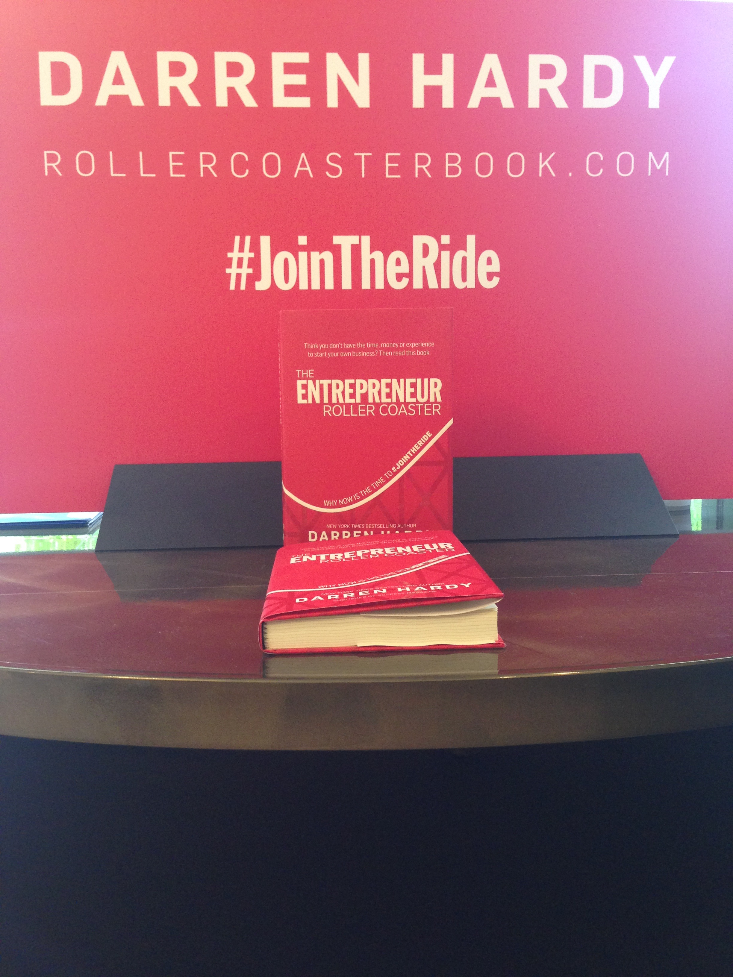 """The Entrepreneur Roller Coaster Experience"" by Darren Hardy"