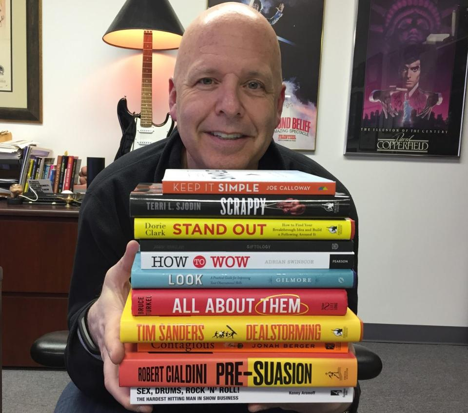 "Forbes.com contributor Shep Hyken with ""Scrappy"""
