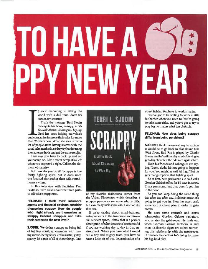 InsuranceNewsNet Magazine Article - Page 15