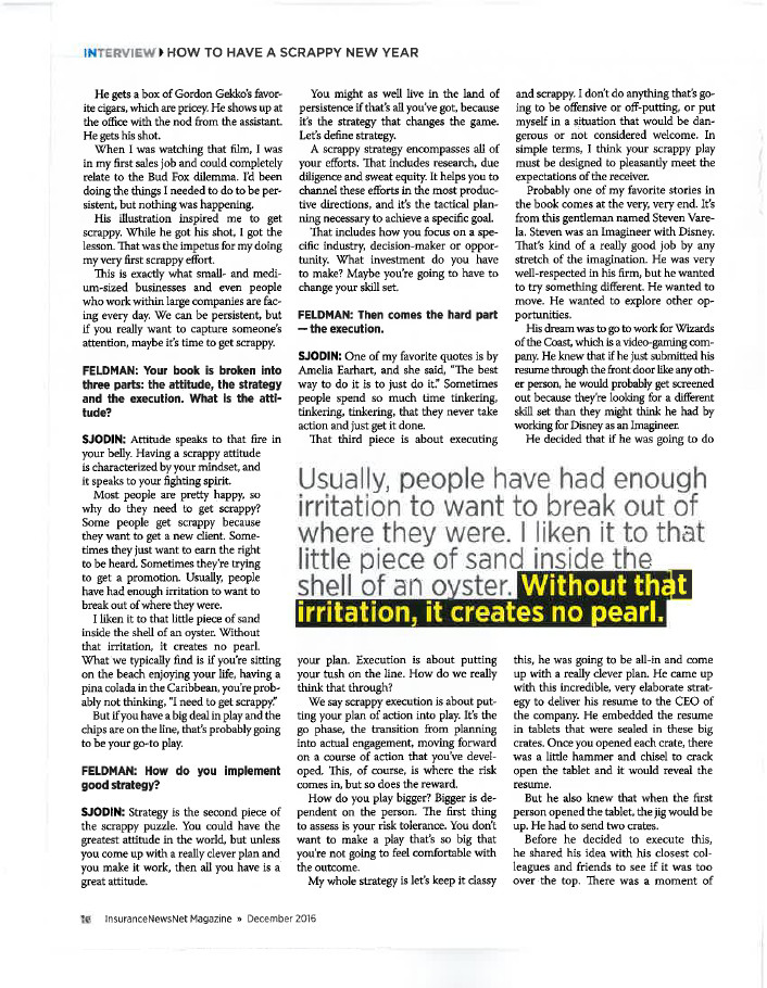 InsuranceNewsNet Magazine Article - Page 16