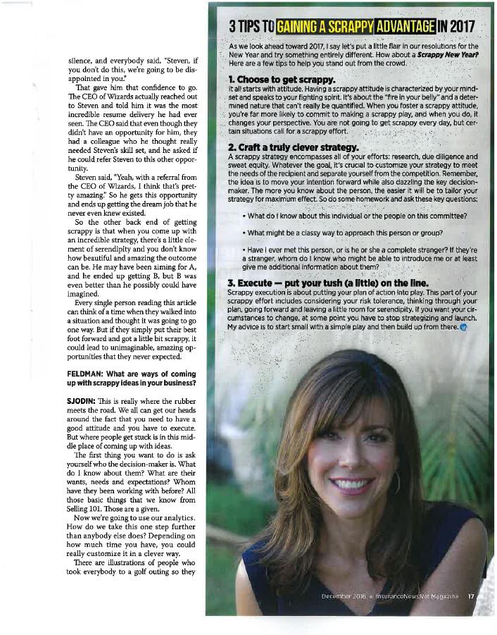 InsuranceNewsNet Magazine Article - Page 17