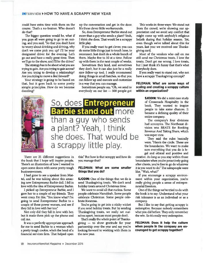 InsuranceNewsNet Magazine Article - Page 18