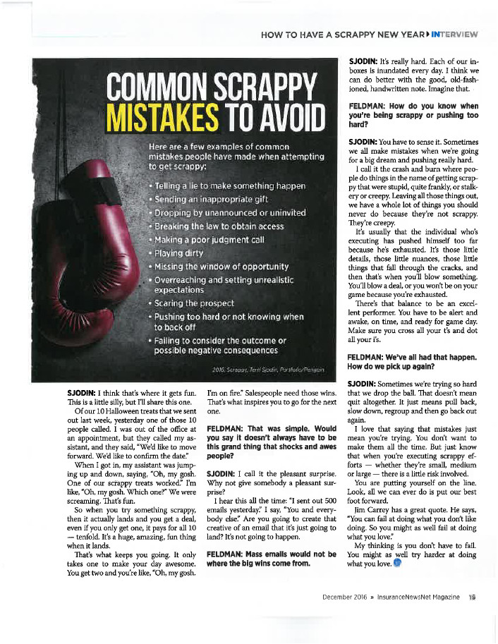 InsuranceNewsNet Magazine Article - Page 19