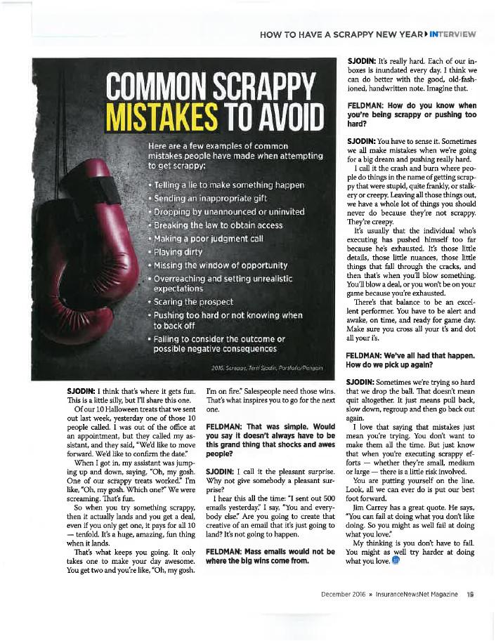 InsuranceNewsNet Magazine Article - Page 19
