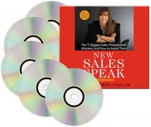 New Sales Speak: Audio Book