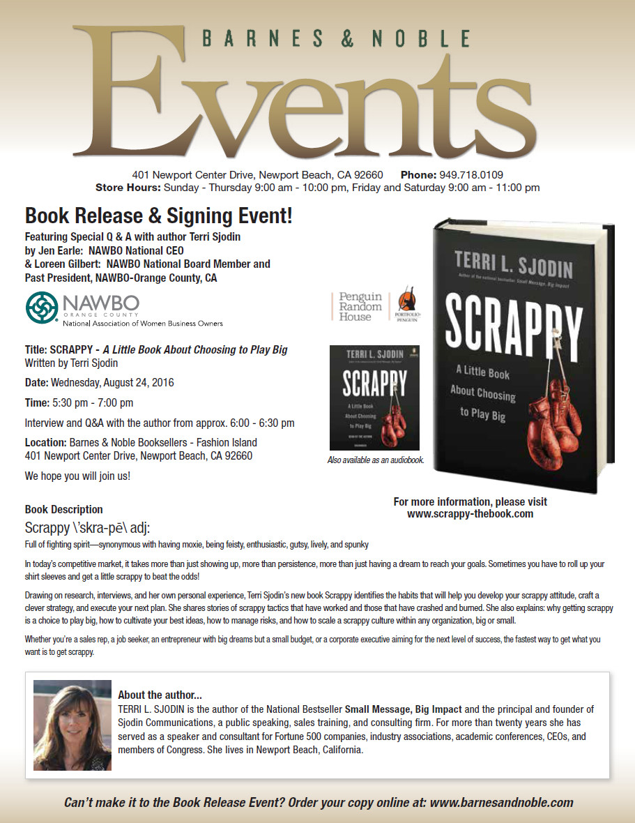 Scrappy B&N Book Release & Signing Event
