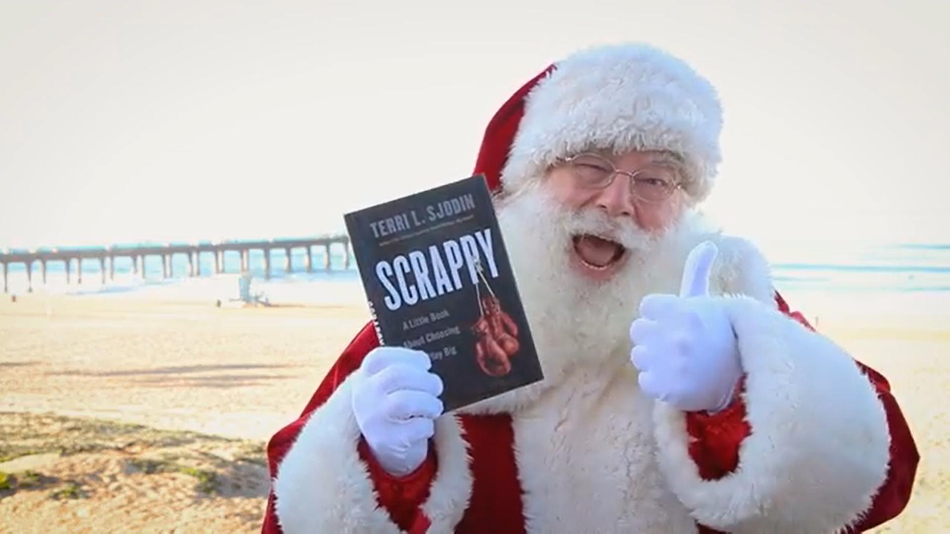 Scrappy Santa