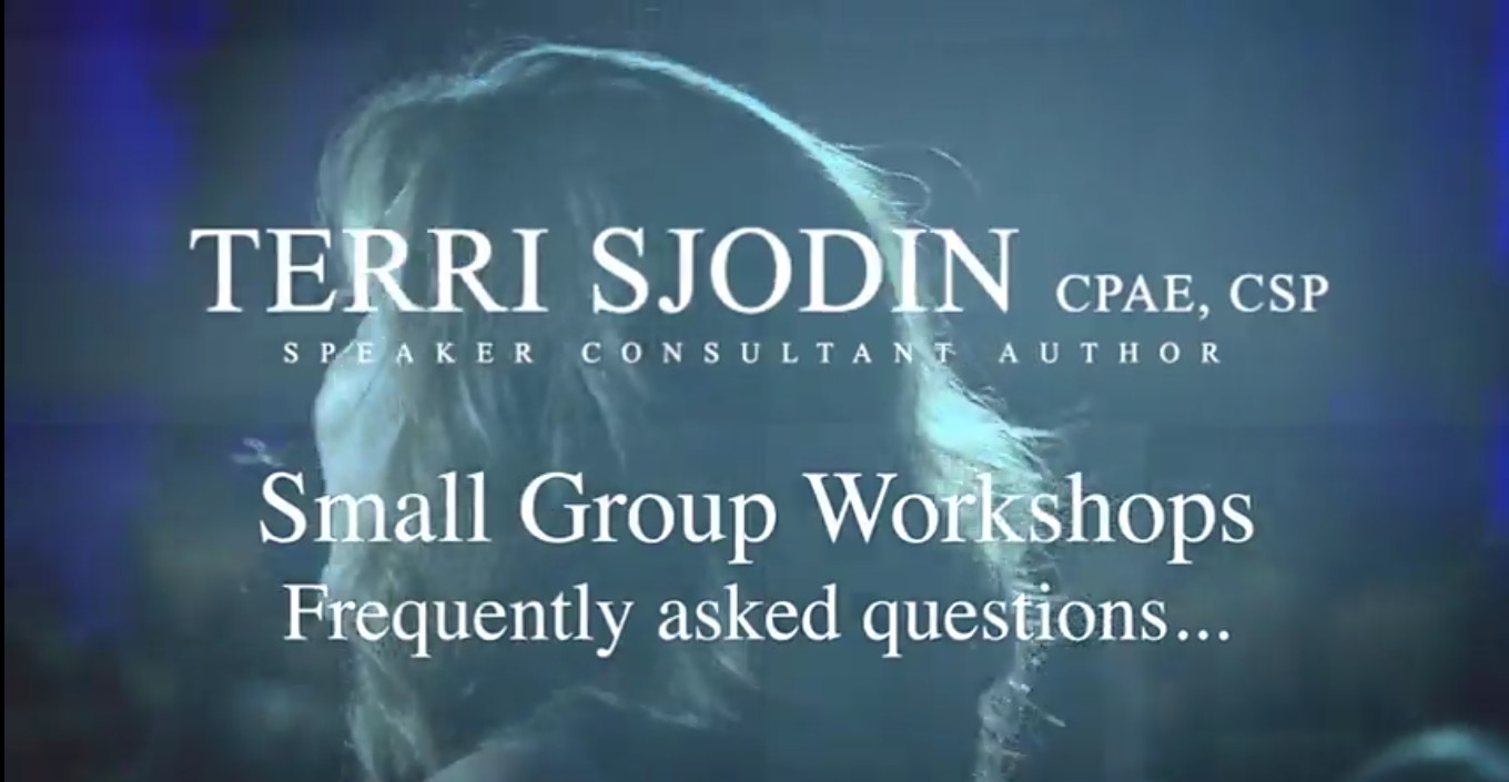 Image: Questions About the Workshops?