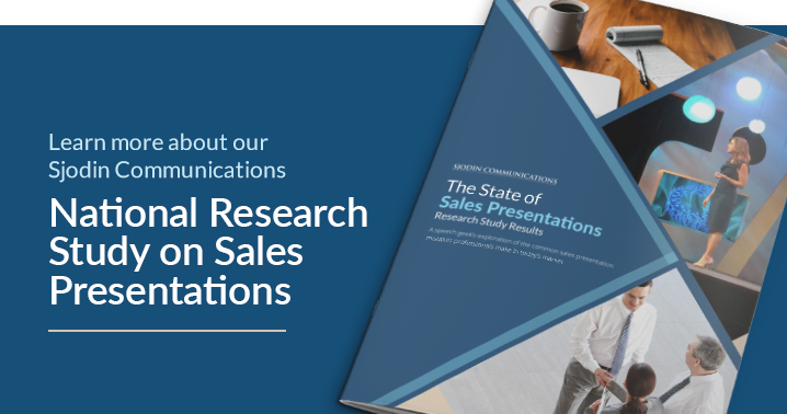 Image: State of Sales Presentations Research Study Report