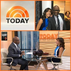 Image: Terri's third appearance on the Today Show with Al Roker January 2017