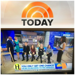 Image: Terri's fourth appearance on the Today Show with Al Roker and Dylan Dreyer April 2017