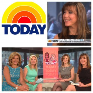 Image: Terri's on the Today Show in a segment with Reader's Digest March 2013