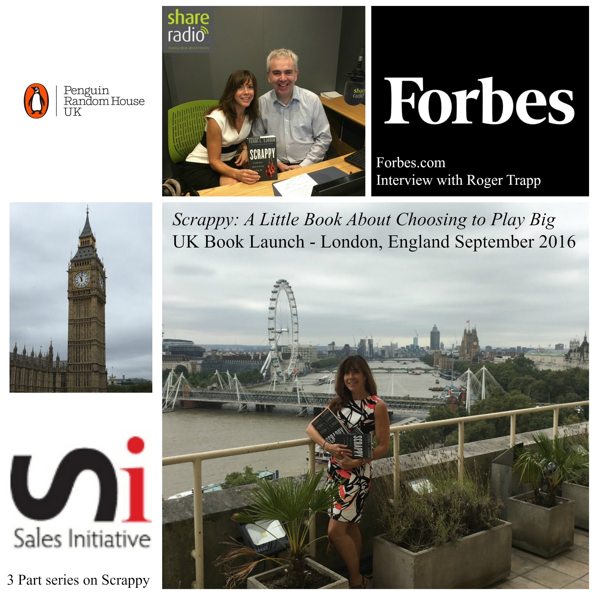 Scrappy UK book launch in London, England