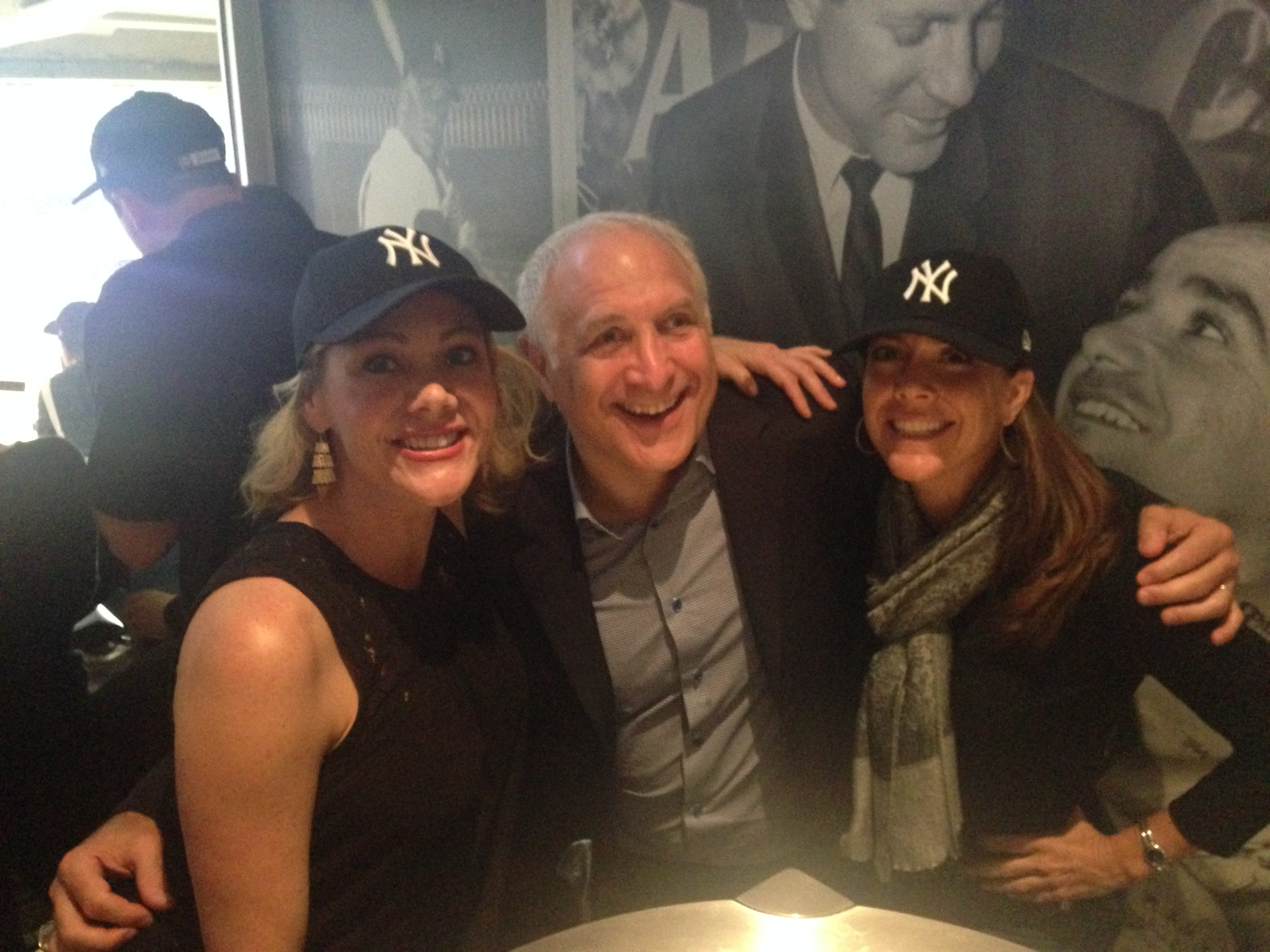 Yankees Game with Bonnie Bruderer, Brandon Steiner, and Terri Sjodin