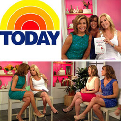 Image: Terri's second appearance on the Today Show in an encore segment with Reader's Digest May 2013