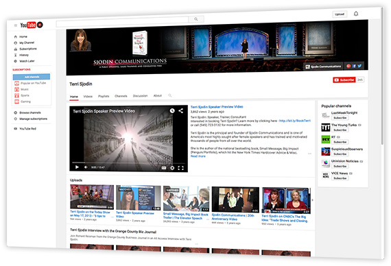 Image: Learn All About Our YouTube Channel